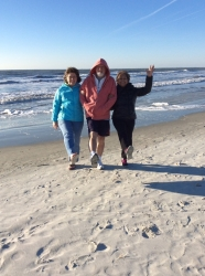 Hilton Head with brother Rick and sis-in-law Maria, 2/15!